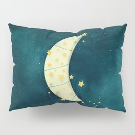 Moon and Stars Pillow Sham