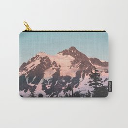 Pink Cascade Mountain Carry-All Pouch
