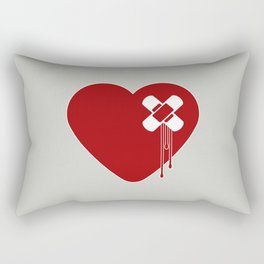 Heart Broken Rectangular Pillow