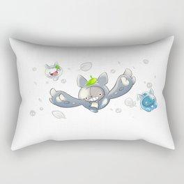 Neighbour and Friends (Pokémon: Reuniclus) Rectangular Pillow