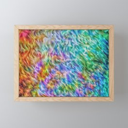 Abstract Background Framed Mini Art Print