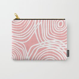 Isolated Shapes - Pink Palette Carry-All Pouch