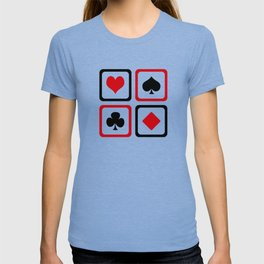Playing card T-shirt