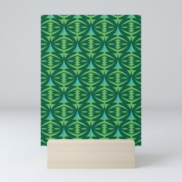 Forest Guardians Pattern Mini Art Print