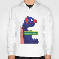 sesame street Hoodies featuring Sesame Beats by BeGraphics