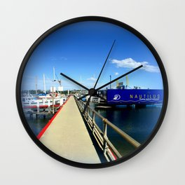 Floating Restaurant Wall Clock