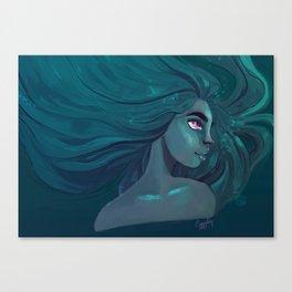 Blue is the warmest colour Canvas Print