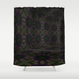 Iconic Hollows 16 Shower Curtain