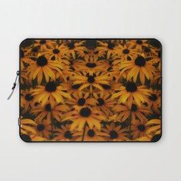 Black-Eyed Susan, yellow autumn daisy Laptop Sleeve