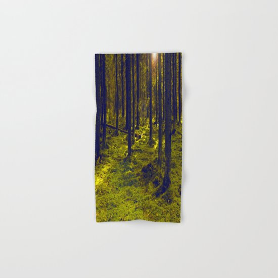 Green Forest Hand & Bath Towel