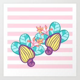Candy Cashew Apple 1 Art Print