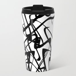 smooth black loops Travel Mug
