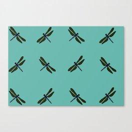 Battimamzelle Design - Blue Canvas Print