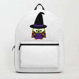 Halloween Owls on Branch Backpack