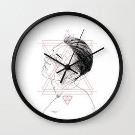 Face Facts I Wall Clock
