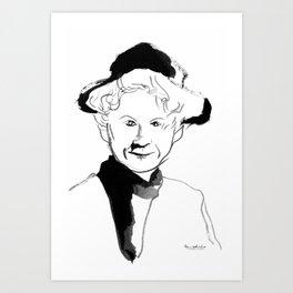 Alice Munro (writer) Art Print