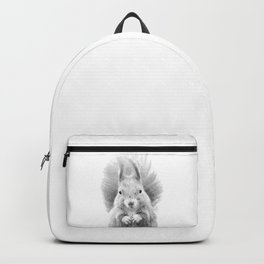 Black and White Squirrel Backpack