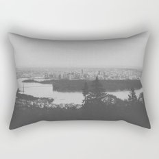 vancouver from cypress mountain. Rectangular Pillow