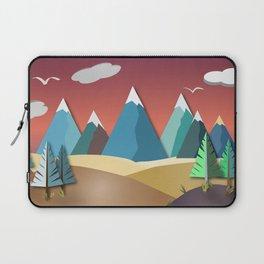 Mountain Landscape 2D Laptop Sleeve