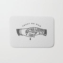 Trust No Man Bath Mat
