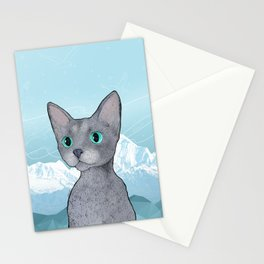Klaus the Cat Stationery Cards
