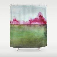 grace Shower Curtains featuring Grace by Mai Autumn