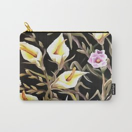 Arum Lily Artistic Floral Design Carry-All Pouch