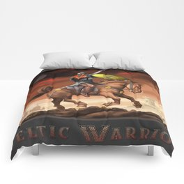 Celtic Warrior Comforters