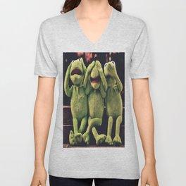 Kermit - Green Frog Unisex V-Neck