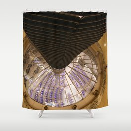 F O S T E R | architect | Reichstag, New German Parliament Shower Curtain