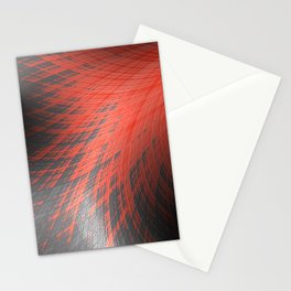 Salmon Splash - Fractal Art  Stationery Cards