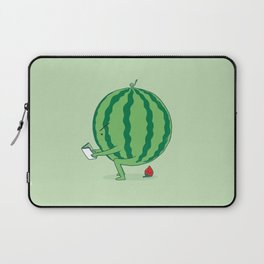 The Making of Strawberry Laptop Sleeve