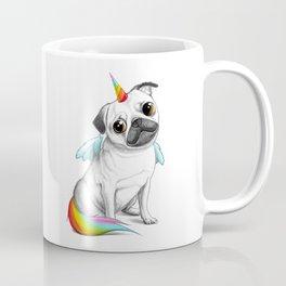 Pug unicorn Coffee Mug