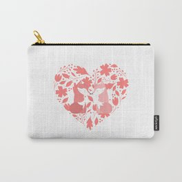 Fox Couple Love Carry-All Pouch