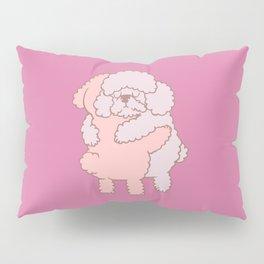 Poodle Hugs Pillow Sham