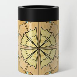 Marigold Orange and Mint Can Cooler