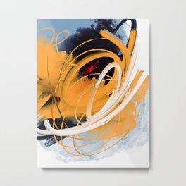 Fuego interno Metal Print