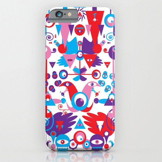 Little Monsters World iPhone & iPod Case