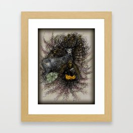 Blue Deer Medicine Framed Art Print