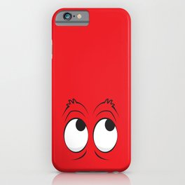 Monster Eyes Red iPhone Case