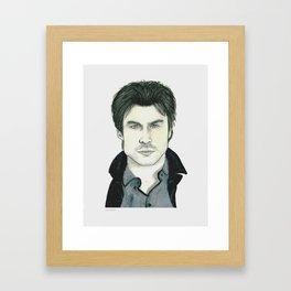 Ian Somerhalder Framed Art Print