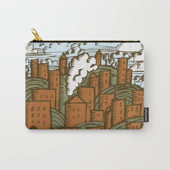 A CITY ON A HILL Carry-All Pouch