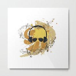 Cool DJ Metal Print