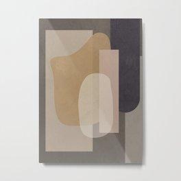Abstract Geometric Art 51 Metal Print