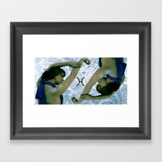 Zodiac Pisces  Framed Art Print