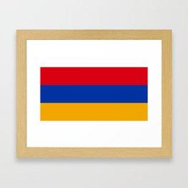 Armenia Flag Framed Art Print