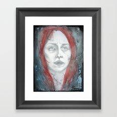 Negli abissi Framed Art Print