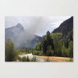 Smoke and Rust Canvas Print