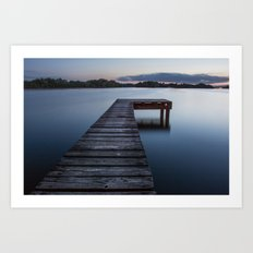 dock of dreams Art Print