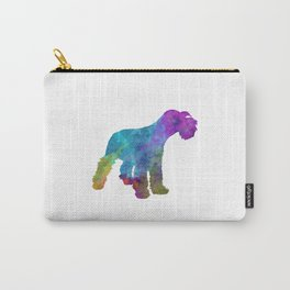 Miniature Schnauzer in watercolor Carry-All Pouch